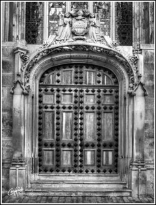 Highcliffe Castle Door