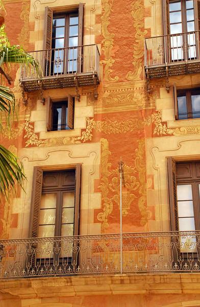 Carrer del Palau de la Musica, Barcelona, Spain