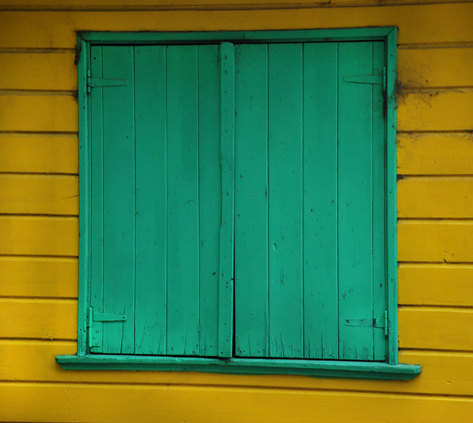 Yellow and Green, La Boca, Buenos Aires, Argentina