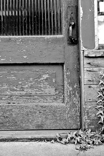 Old Door Threshold