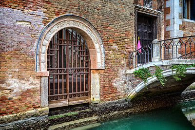 Choices.  Arched canal  gateway or bridge doorway?