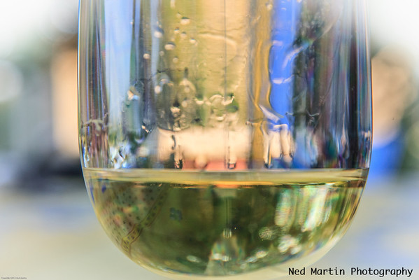 Reflections on the wine, Saussignac, France