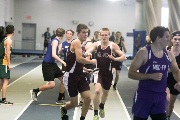 Dordt College Indoor Track 2017