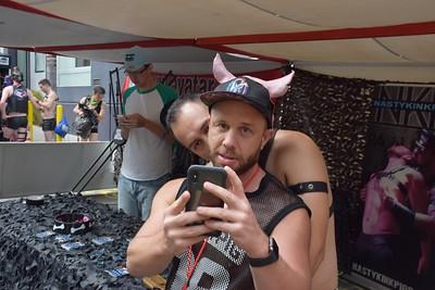Dore Alley street fair S.F. 2018