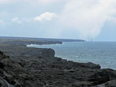 Big Island - Volcanoes Nat'l Park - End of Route of the Craters