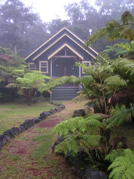 Volcano Honeymoon Chalet Big Island Hawaii