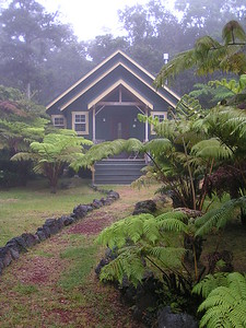 Volcano Honeymoon Chalet Big Island Hawaii