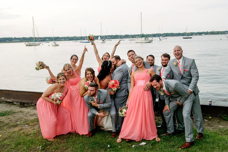 August 5, 2017<br /> Copyright Claire Abendroth<br /> <br /> Kaley & Zach Dorian's Wedding/Rehearsal/Reception in Fremont, Michigan and Muskegon, Michigan.