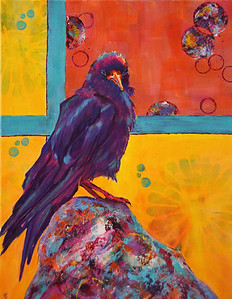 Wisdon Comes With Contemplation - Sold