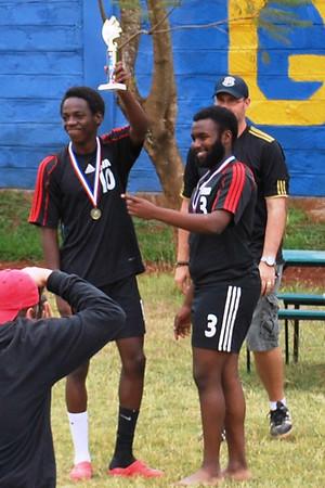 13-11-09 Varsity Soccer AISK Champions