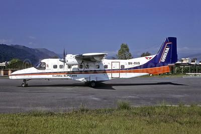 Gorkha Airlines Dornier 228-212 9N-AHS (msn 8218) KTM (Richard Vandervord). Image: 952157.
