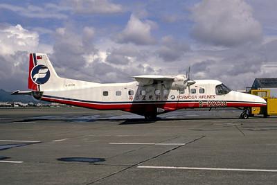 Crashed into the sea near Green Island, Taiwan on February 28, 1993, 6 killed