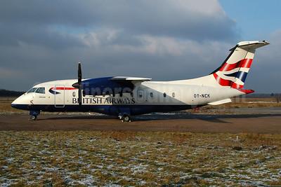 British Airways Sun-Air of Scandinavia Dornier 328-110 OY-NCK (msn 3061) EIN (Ton Jochems). Image: 953717.