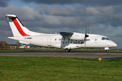 CityJet (ScotAirways) Dornier 328-110 G-BYMK (msn 3062) BQH (Terry Wade). Image: 906767.