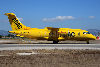 ADAC Ambulance-ARC Europe (Aero-Dienst) Fairchild-Dornier 328-310 (328JET) D-BADC (msn 3216) PMI (Ton Jochems). Image: 920007.