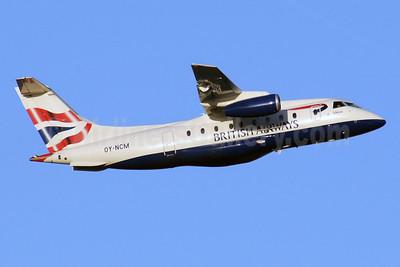 British Airways Sun-Air of Scandinavia Dornier 328-310 (328JET) OY-NCM (msn 3190) MAN (Rob Skinkis). Image: 902399.
