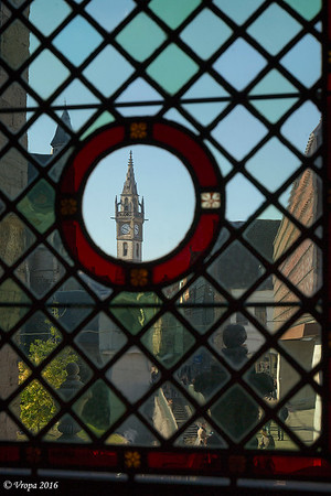 Zicht vanuit het Belfort in Gent.