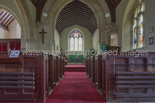 All Saints church, Tarrant Keynston