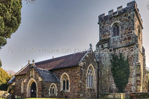 17th Century All Saints church
