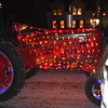 GREG SUKIENNIK -- MANCHESTER JOURNAL<br /> Dorset held its annual tractor parade on Friday, Nov. 23. Tractors festooned with hundreds of holiday lights made their way through Dorset's village district as hundreds looked on.