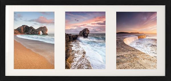Dorset Coast Triptych