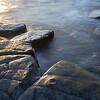 Kimmeridge - sun on rocks