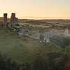 Dawn, Corfe Castle