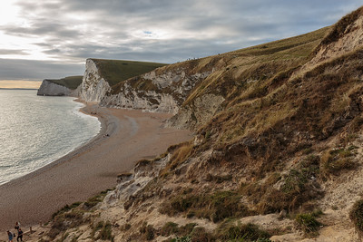White cliffs at Durdle Door