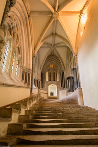 The Stairs to the Chapter House