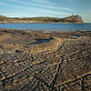 Kimmeridge Bay - Clavell Tower from the ledges