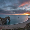 Sunset colours , Durdle Door