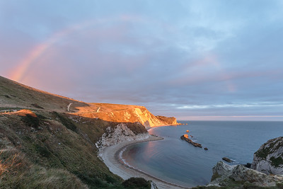 Rainbow over Man O' War Bay