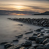 Sunset from Clavell Tower beach, Kimmeridge
