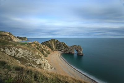 Durdle Door by evening light