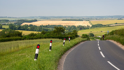 Cycling in the Dorset hills