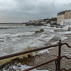 Swanage in a storm