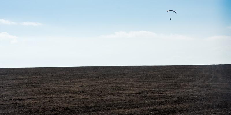 Gliding over Dorset fields