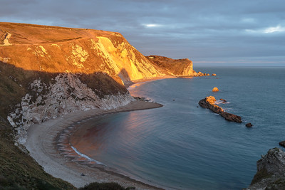 Man O'  War Bay by evening sun