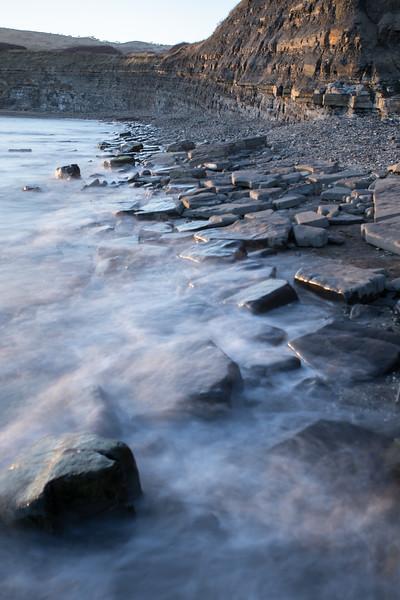 Kimmeridge rocky shore