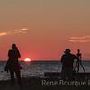 Coucher de soleil à Pointe-Ouest