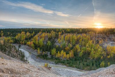 Anticosti, faune, paysage, automne 2018