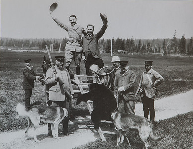 Chasse à l'ours, 1905