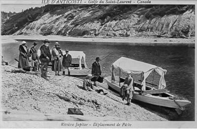 Carte Postale-époque Menier-Rivière Jupiter-Anticosti