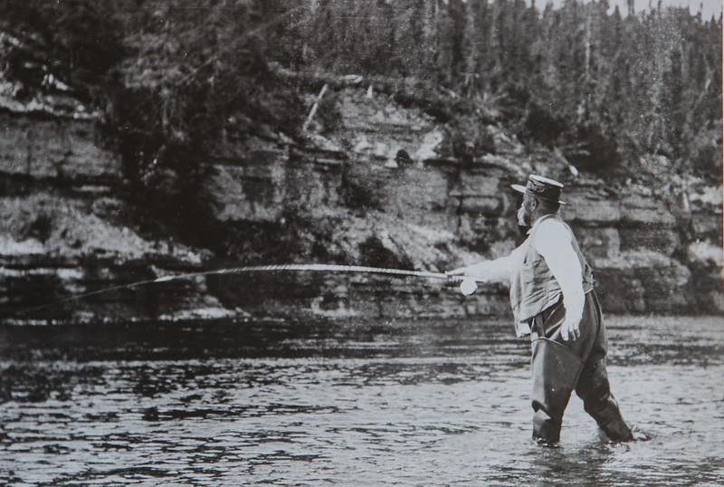 Henri-Menier-pêche-saumon-riviere jupiter-anticosti-1905