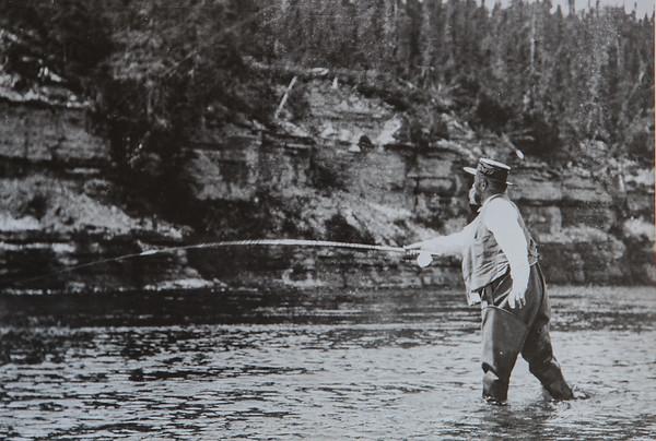 Henri Menier au pool Grey ( Jupiter 12) en juillet 1905