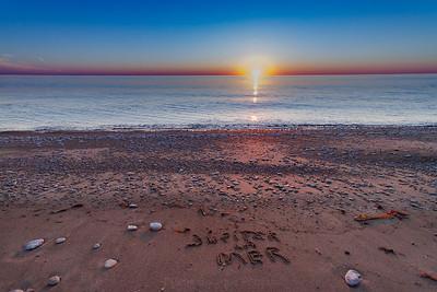Jupiter la Mer-coucher de soleil-anticosti