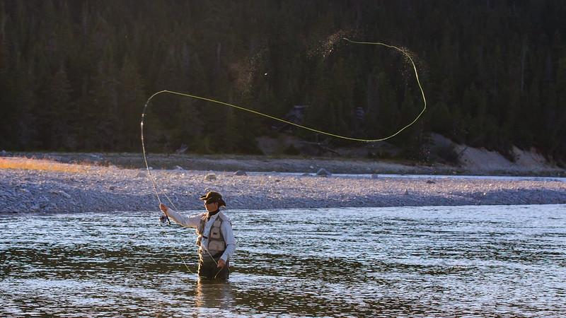 Pêche à la mouche-rivière Jupiter-Anticosti