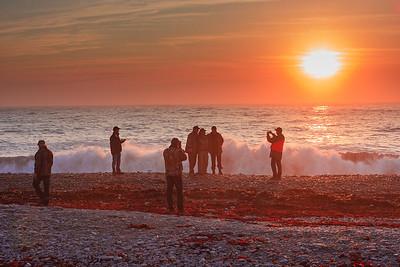 Coucher de soleil-Jupiter la Mer-chasseurs