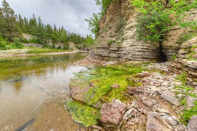 Résurgence, rivière Observation Ouest, Anticosti