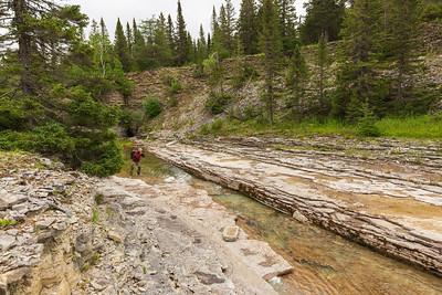 Rivière Observation Ouest, parc national Anticosti